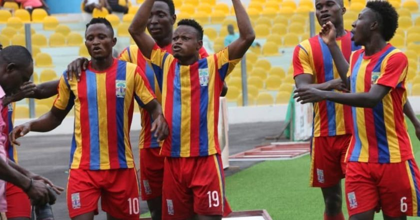 Hearts of Oak lineup three friendly games for October