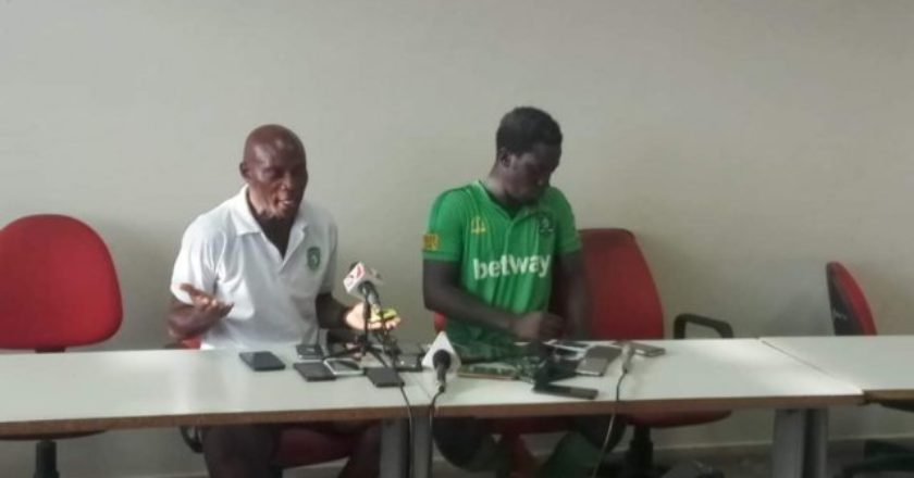 The referee cheated us - Aduana Stars coach Paul Tandoh