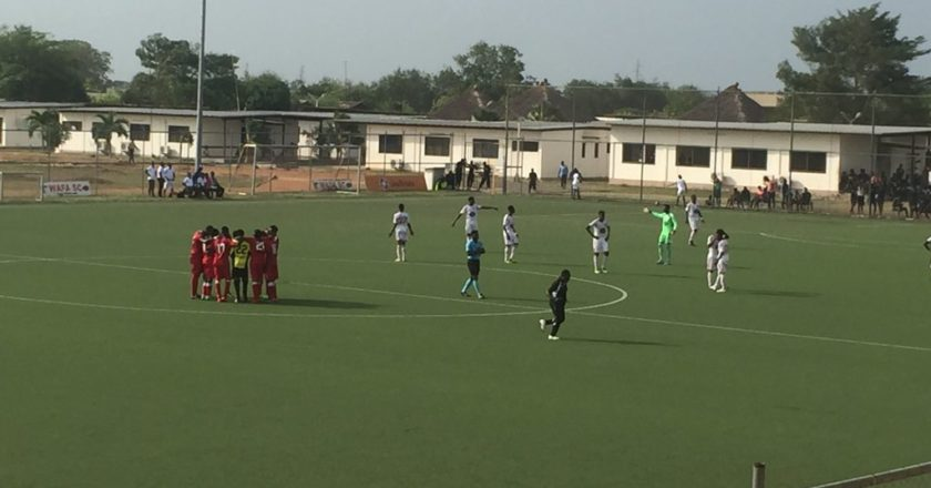 Special Competition: WAFA 1-1 Inter Allies: Kingsford Opoku rescues a point for Allies
