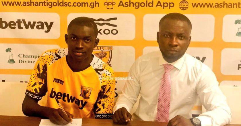 Ashantigold signs Ivorian youngster Ibrahim Kalil Doumbia