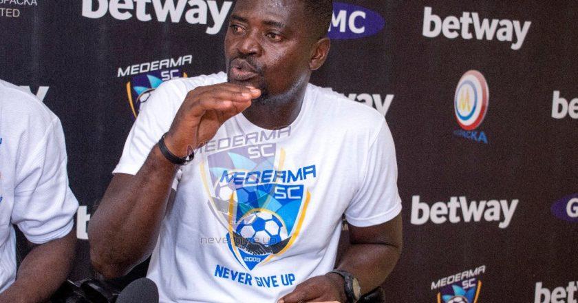 Asante Kotoko are favorites - Medeama coach Samuel Boadu