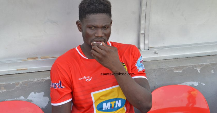 Kwame Bonsu sends farewell message to Asante Kotoko