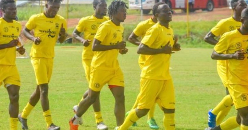 Asante Kotoko held by Storm FC in friendly game