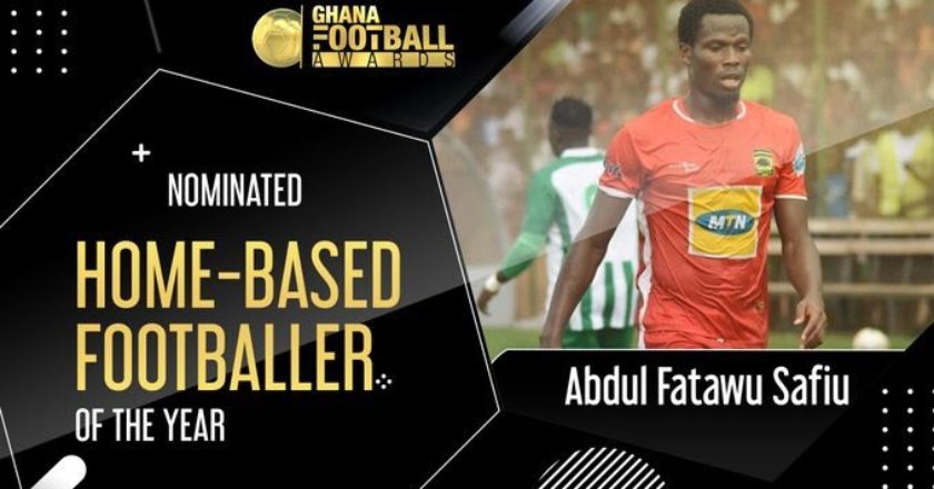 Abdul Fatawu, Partey, Hearts of Oak and others nominated for Ghana Football Awards - See full list