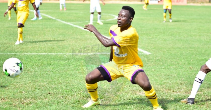 Medeama SC part ways with striker Kwame Boateng