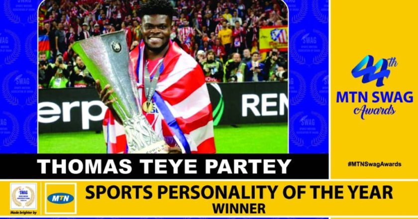 Thomas Partey, Mukarama Abdulai win at SWAG awards; see FULL list of winners