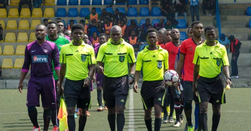 Referees to suspend officiating in the Special Competition