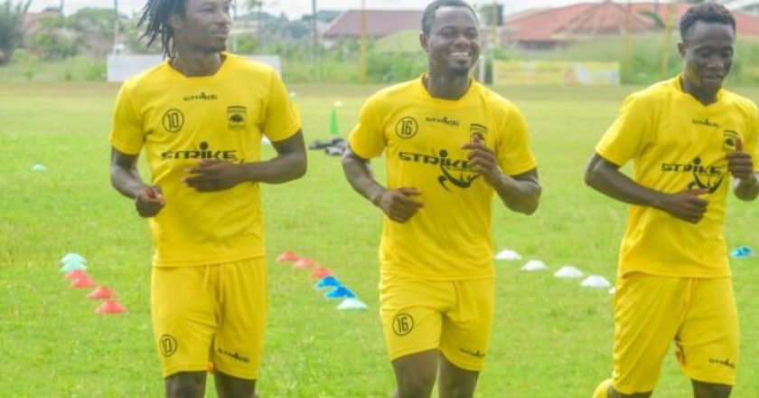 Sogne Yacouba happy to be back in training with Kotoko