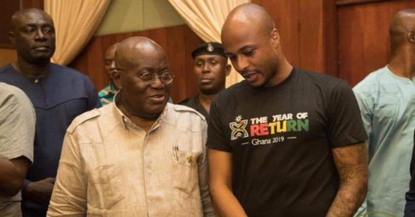 President Nana Addo Akufo-Addo Bids Black Stars Farewell Ahead Of The 2019 AFCON