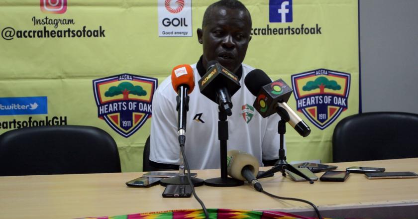 We were far better than Hearts - Karela coach Johnson Smith