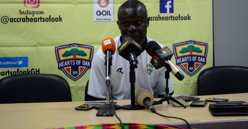 The referee gifted Hearts the penalty - Karela Coach Johnson Smith