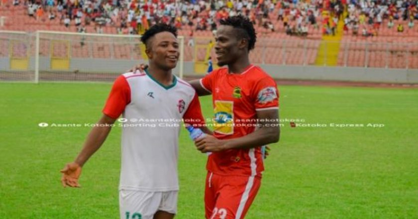 I want to play for Asante Kotoko - Diawisie Taylor