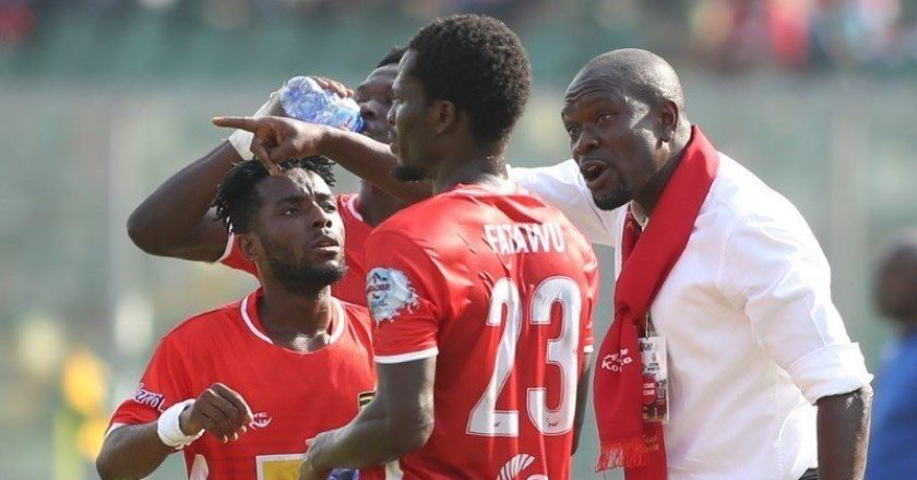 Kotoko coach CK Akonnor grateful to his players after 'memorable' win