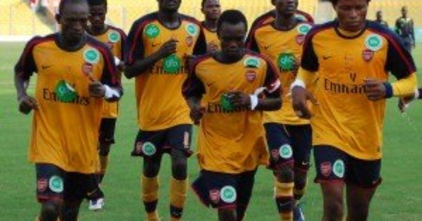 Berekum Arsenal want venue for Kotoko clash changed