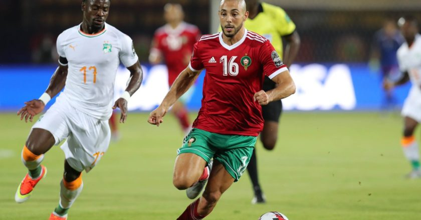 WATCH: AFCON 2019: Morocco 1-0 Cote d'Ivoire | Highlights