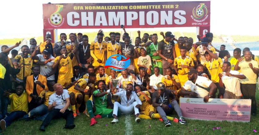 Special Cup: Ashantigold beat Nzema Kotoko to lift tier-two cup