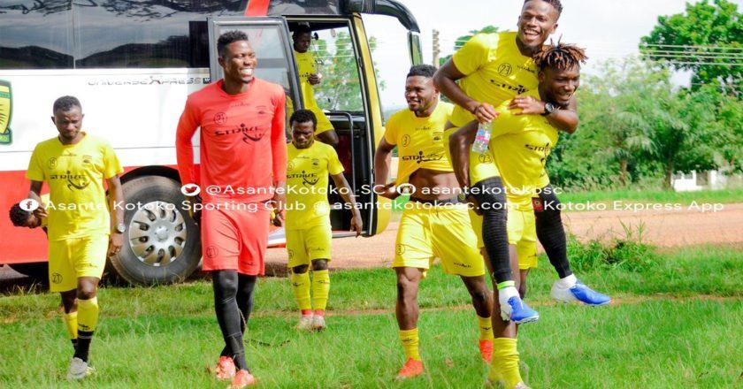 Abdul Fatawu back in training with Asante Kotoko