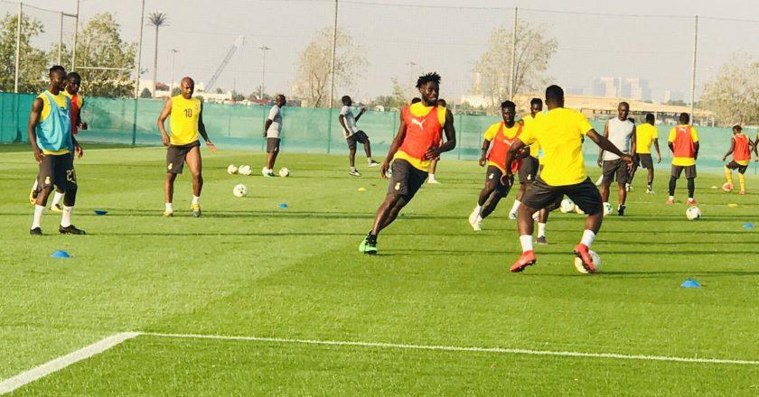 Black Stars starting lineup against Namibia; Abdul Fatawu starts