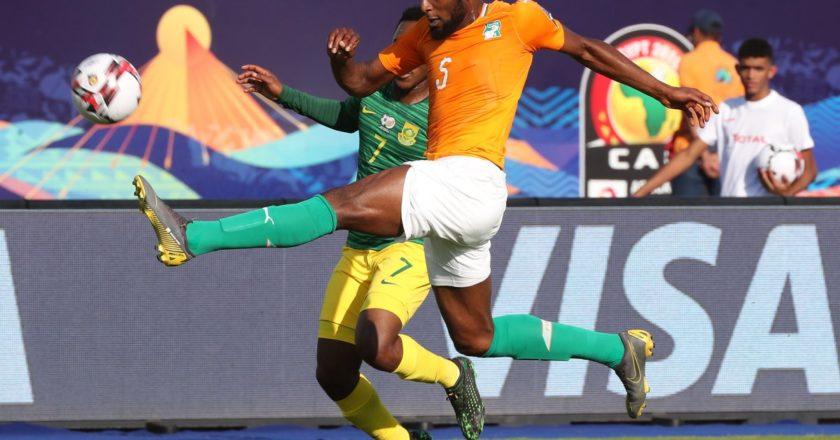 WATCH: Kodjia on target as Ivory Coast beat Bafana Bafana