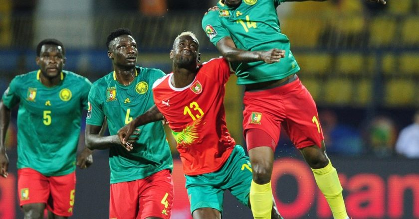 WATCH: AFCON 2019: Defending Champions Cameroon cruise past Guinea-Bissau
