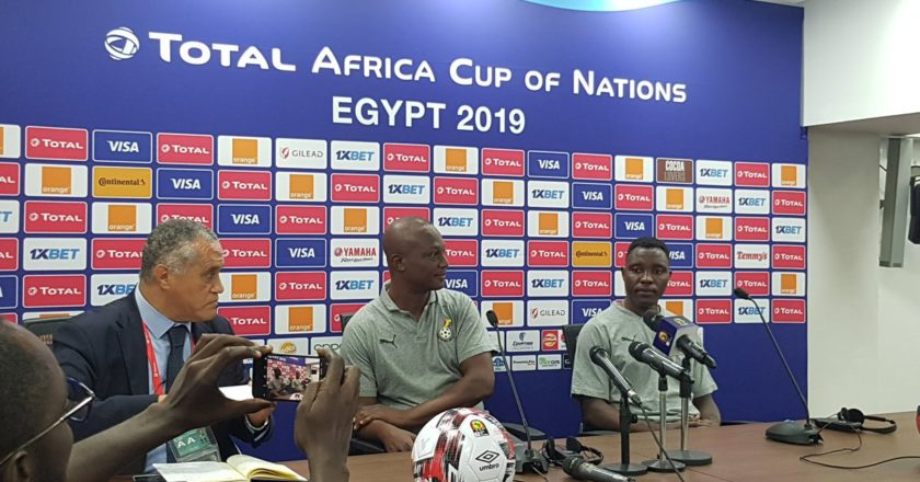 AFCON 2019: Kwesi Appiah give team injury update ahead of crucial game