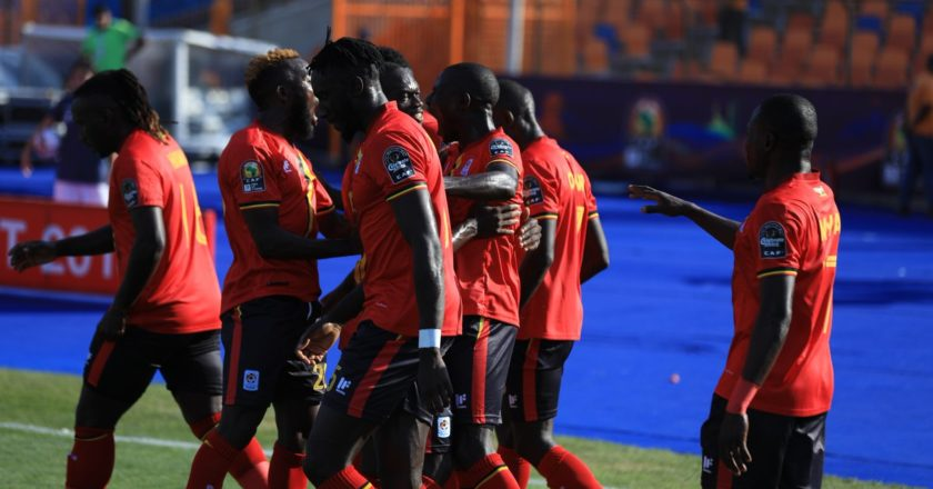 AFCON 2019: Uganda beat DR Congo to top group A
