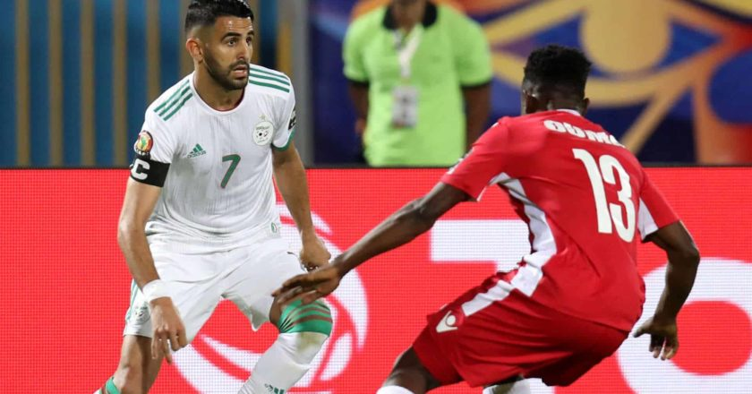 The second game of group C saw Algeria take on Kenya