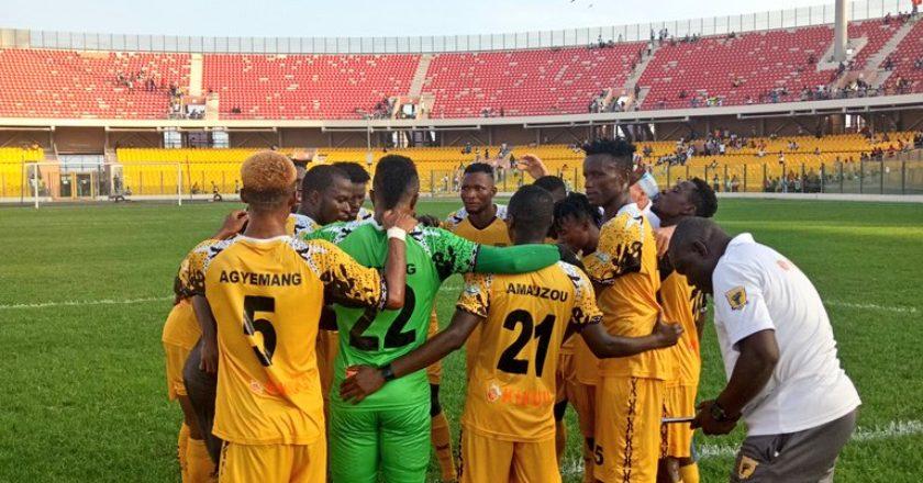 CAF Confederation Cup: Ashantigold to face Akonangui FC