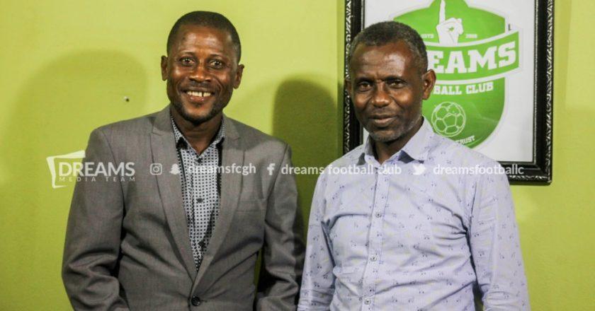 Dreams FC appoint Winfred Dormon as new Head coach