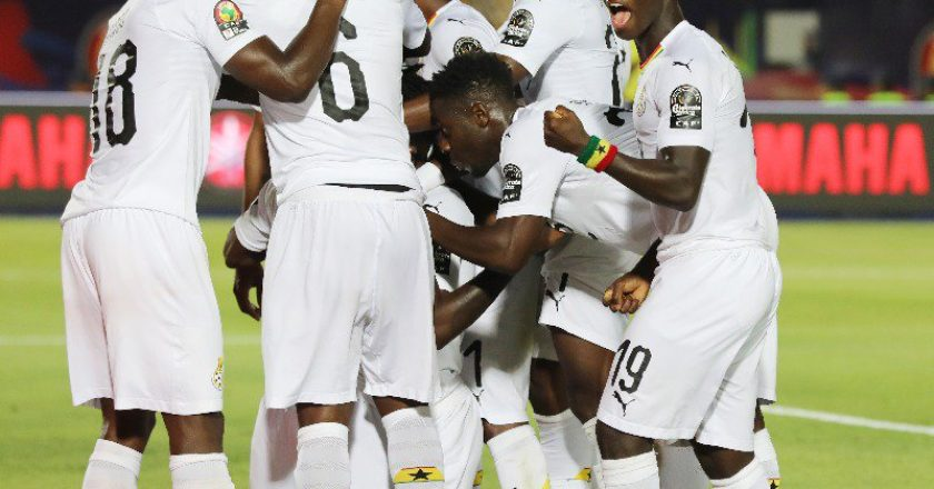 Ghana move up four places in latest FIFA Rankings