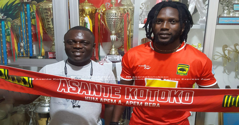 OFFICIAL: Asante Kotoko complete signing of Ivorian striker