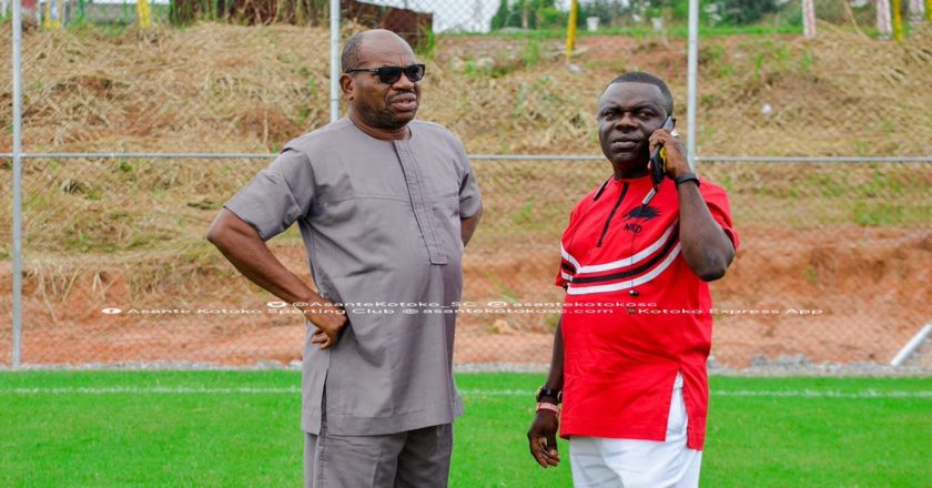 Asante Kotoko CEO George Amoako all but confirms CK Akonnor's departure
