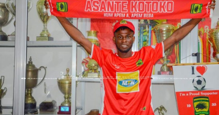 OFFICIAL: Asante Kotoko announce signing of three players