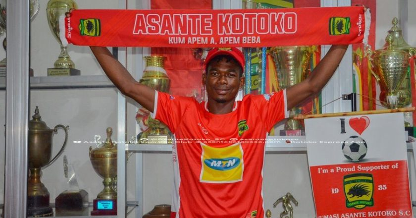 OFFICIAL: Asante Kotoko announce signing of Karela United defender