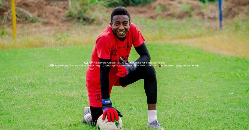 Felix Annan back in training with Asante Kotoko