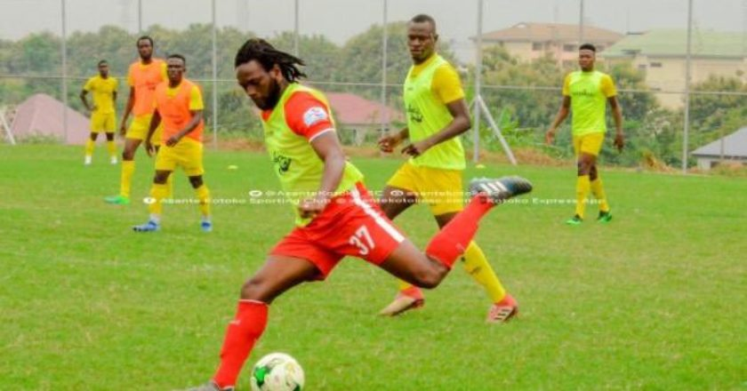 Kotoko new signing Andingra Moussa seeks support from the fans