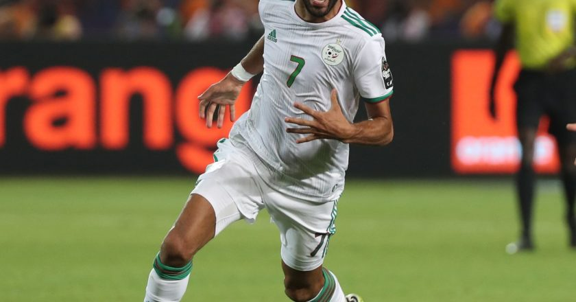 WATCH: Algeria 2-1 Nigeria | Goals and Highlights