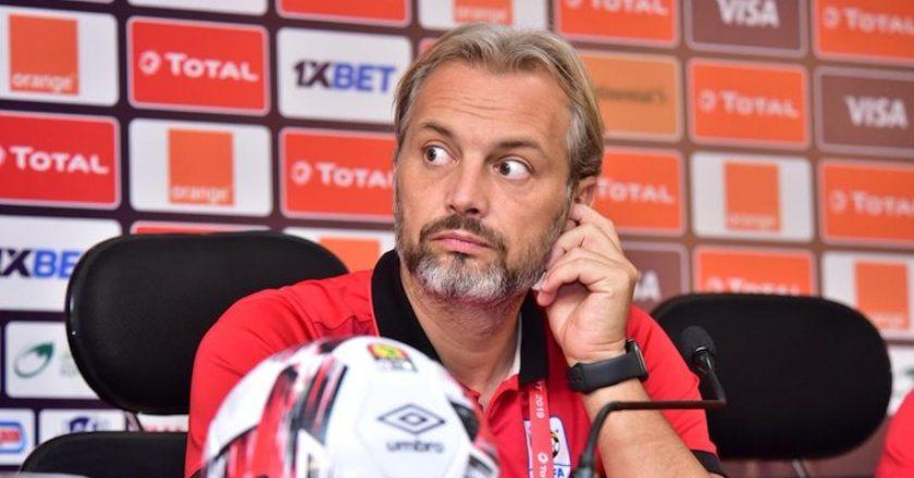 AFCON 2019: Uganda coach Sebastien Desabre resigns