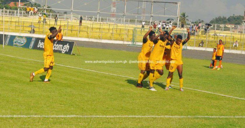 Ashantigold beat Rahimo FC in friendly game