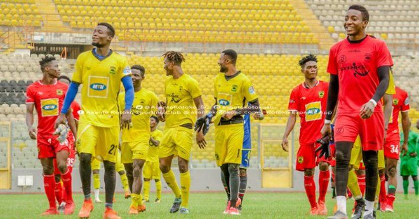 Asante Kotoko to resume training on Tuesday