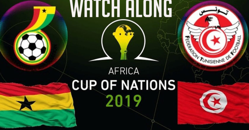 AFCON 2019: Ghana vs Tunisia | Watch Along live