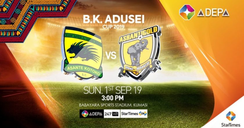 StarTimes to broadcast B.K Adusei Cup between Kotoko and AshGold on Sunday