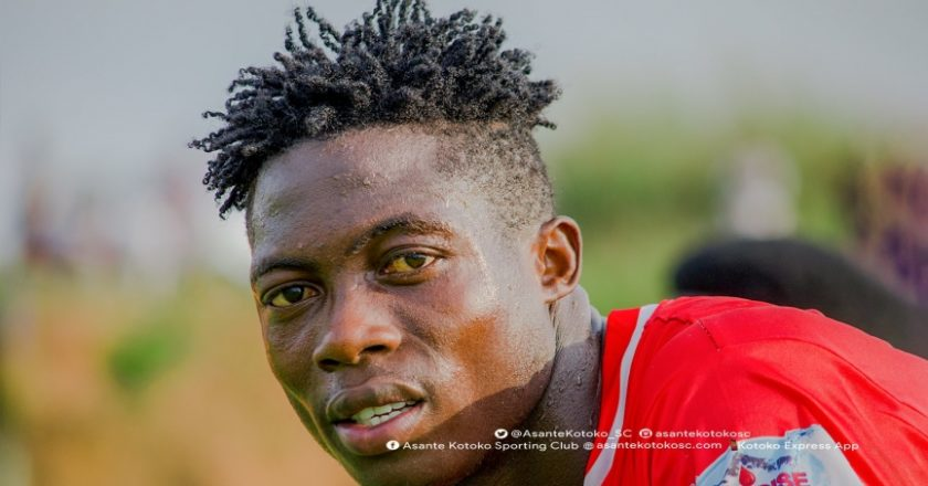 Kotoko fans vote Justice Blay as most impressive new signing