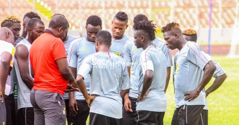 Head coach of the Black Stars B has dropped sixteen players from his team ahead of their 2020 CHAN qualifier against Burkina Faso on Friday The list include three players from Hearts of Oak namely Manaf Umar, Benjamin Agyare and Benjamin Afutu with Abdul Rahman of Aduana Stars. Shockingly, 2017 WAFU gold medalist Joseph Addo has also been sent home ahead of the all-important match at the Baba Yara Sports Stadium on Sunday. The team commenced preparations in Kumasi last month for the all-important qualifier against Burkina Faso. Coach Konadu's side are also expected to represent the country in the upcoming WAFU tournament to be staged in Senegal. Below is the full list; Joseph Addo (Aduana Stars) Benjamin Agyare (Hearts of Oak) Mudasiru Salifu (Kotoko) Isaac Hagan (Karela) Fatawu Abdul Rahman (Aduana Stars) Daniel Lomotey (WAFA) Isaac Kwain (Karela United) Benjamin Yorke (Sarmatex) Patrick Arthur (Dreams FC) Ansah Botway (Liberty Professional) Mubarik Yussif (Ashanti Gold) Benjamin Afutu Kotey (Hearts of Oak) Manaf Umar (Hearts of Oak) Stephen Okai (Great Olympics) Obed Bentum (Ebusua Dwarfs) Chris Shaw (Unity FC)