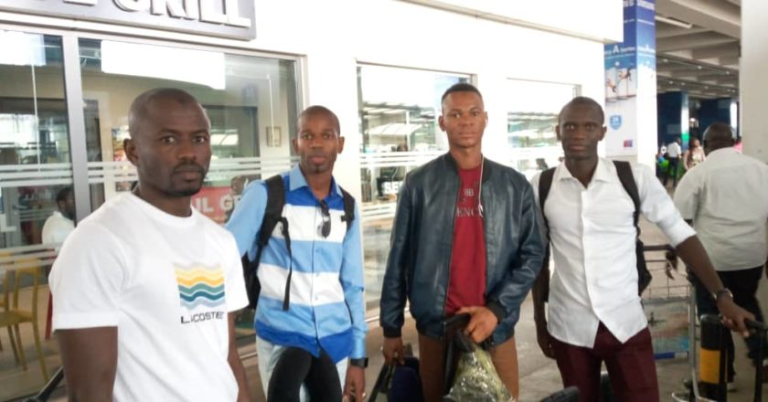 CAF CC: Match officials for Ashgold-Berkane arrive in Ghana