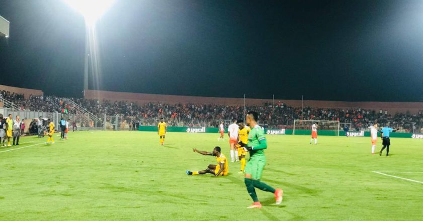 WATCH; CAF CC: RS Berkane 2-0 Ashantigold