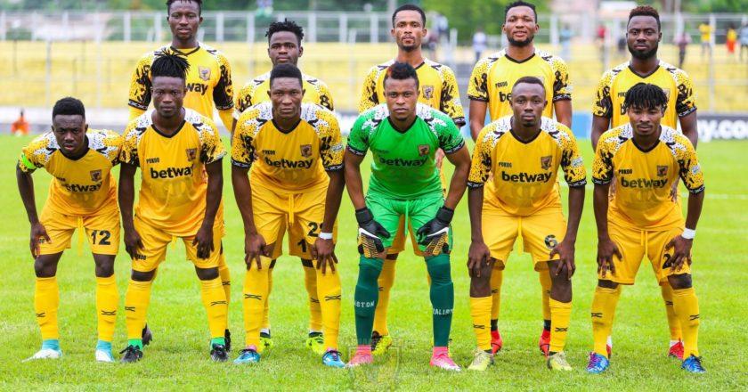 CAF CC: Ashantigold announce 18 players for Berkane trip