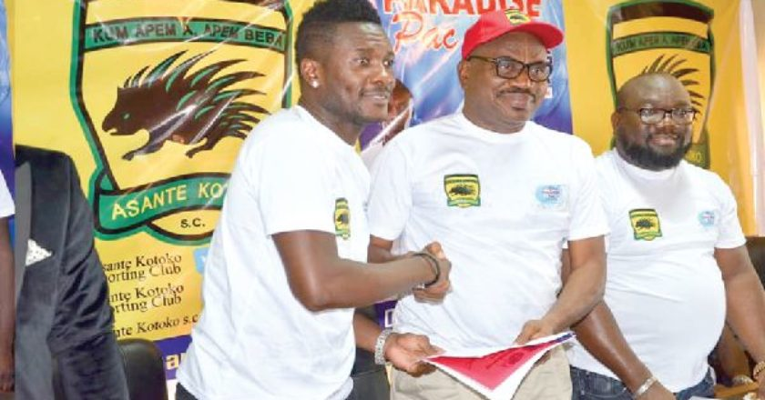 We are not terminating our deal with Paradise Pac - Asante Kotoko
