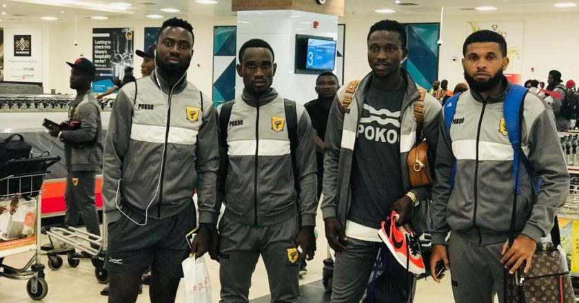 Ashantigold arrive in Ghana after CAF Confederation Cup exit