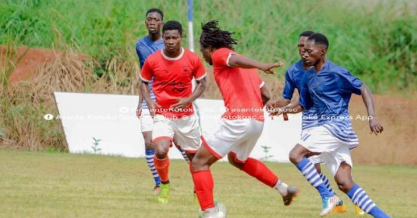 Sogne Yacouba nets hat trick as Kotoko thrash Bekwai Youth in friendly game